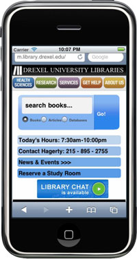 Libraries Going Mobile with Drupal