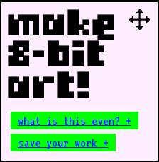 Make 8 Bit Art