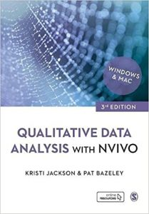 Cover of Qualitative Data Analysis with NVivo by Kristi Jackson and Pat Bazeley.