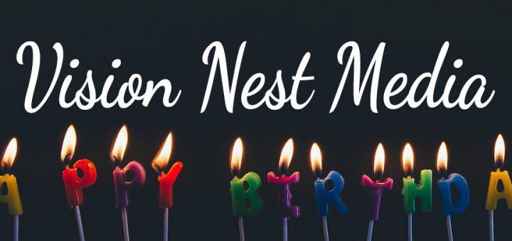 Happy Birthday to Vision Nest Media